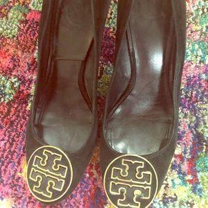 Tory Burch black heels- 9.5